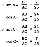 KSEEB SSLC Class 10 Maths Solutions Chapter 11 Introduction to Trigonometry Ex 11.1 2