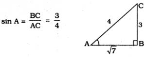KSEEB SSLC Class 10 Maths Solutions Chapter 11 Introduction to Trigonometry Ex 11.1 5