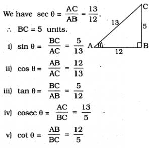 KSEEB SSLC Class 10 Maths Solutions Chapter 11 Introduction to Trigonometry Ex 11.1 8