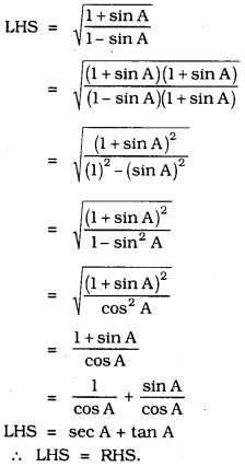 KSEEB SSLC Class 10 Maths Solutions Chapter 11 Introduction to Trigonometry Ex 11.4 22
