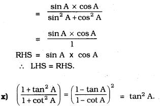 KSEEB SSLC Class 10 Maths Solutions Chapter 11 Introduction to Trigonometry Ex 11.4 30