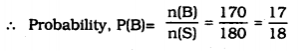 KSEEB SSLC Class 10 Maths Solutions Chapter 14 Probability Ex 14 Q 10.1