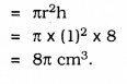 KSEEB SSLC Class 10 Maths Solutions Chapter 15 Surface Areas and Volumes Ex 15.2 Q 8.1