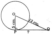 KSEEB SSLC Class 10 Maths Solutions Chapter 4 Circles Ex 4.1 1