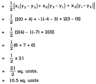 KSEEB SSLC Class 10 Maths Solutions Chapter 7 Coordinate Geometry Ex 7.3 1