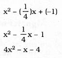 KSEEB SSLC Class 10 Maths Solutions Chapter 9 Polynomials Ex 9.2 7