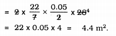KSEEB Solutions for Class 9 Maths Chapter 13 Surface Area and Volumes Ex 13.2 Q 8.1