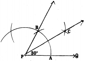 KSEEB Solutions for Class 9 Maths Chapter 6 Constructions Ex 6.1 3