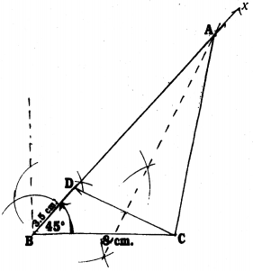 KSEEB Solutions for Class 9 Maths Chapter 6 Constructions Ex 6.2 2