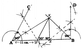KSEEB Solutions for Class 9 Maths Chapter 6 Constructions Ex 6.2 4