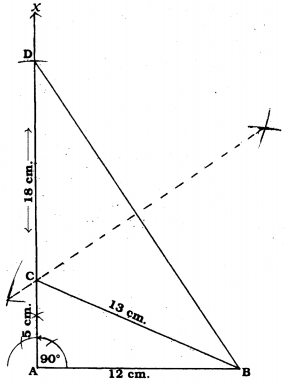 KSEEB Solutions for Class 9 Maths Chapter 6 Constructions Ex 6.2 5