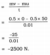 KSEEB Solutions for Class 9 Science Chapter 9 Force and Laws of Motion 6