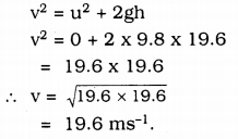 KSSEB Solutions for Class 9 Science Chapter 10 Gravitation 7