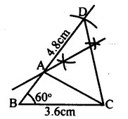 KSEEB Solutions for Class 8 Maths Chapter 12 Construction of Triangles Ex. 12.11 1