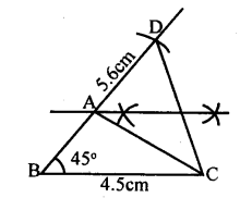 KSEEB Solutions for Class 8 Maths Chapter 12 Construction of Triangles Ex. 12.11 2