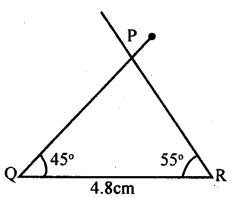 KSEEB Solutions for Class 8 Maths Chapter 12 Construction of Triangles Ex. 12.3 2
