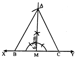 KSEEB Solutions for Class 8 Maths Chapter 12 Construction of Triangles Ex. 12.9 3