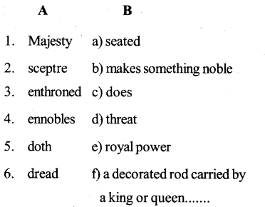 KSEEB SSLC Class 10 English Solutions Poetry Chapter 2 Quality of Mercy 2