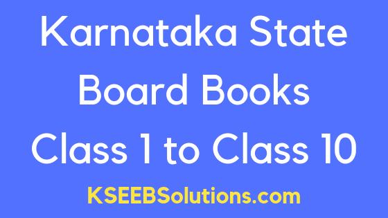 KTBS Karnataka Textbook Download PDF