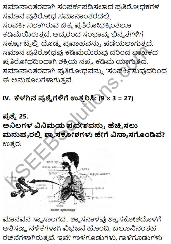 Karnataka SSLC Science Model Question Paper 1 in Kannada Medium - 14