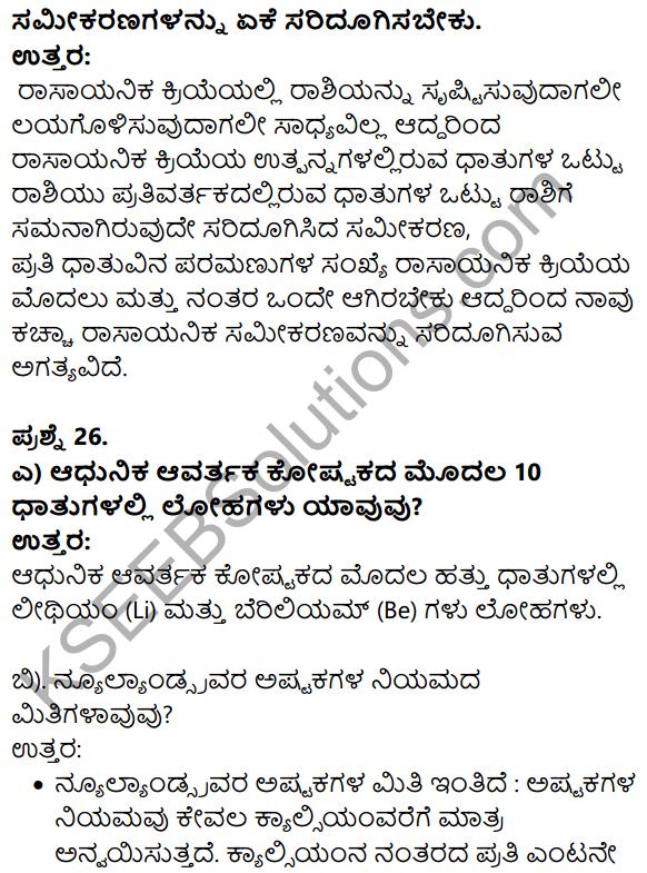 Karnataka SSLC Science Model Question Paper 3 in Kannada Medium - 12