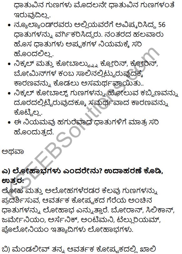 Karnataka SSLC Science Model Question Paper 3 in Kannada Medium - 13