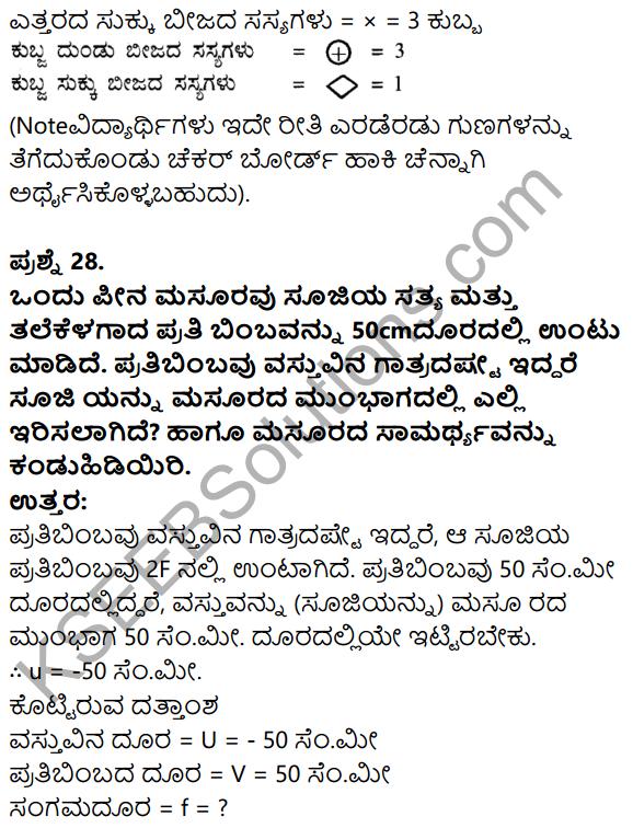 Karnataka SSLC Science Model Question Paper 3 in Kannada Medium - 16