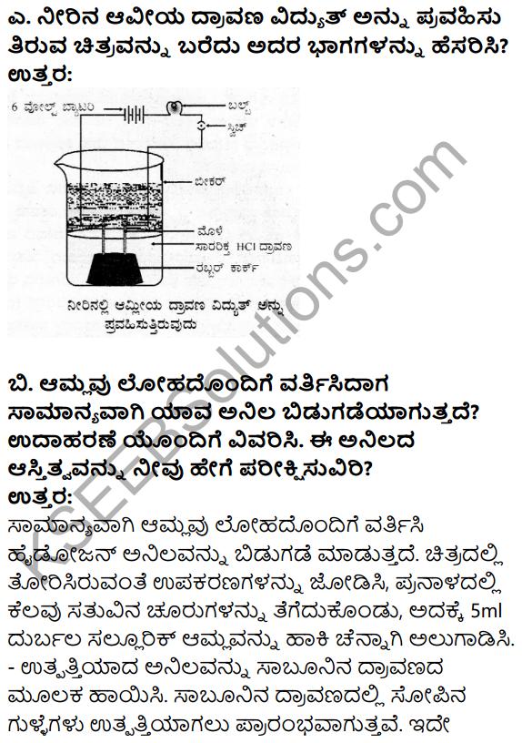 Karnataka SSLC Science Model Question Paper 3 in Kannada Medium - 25
