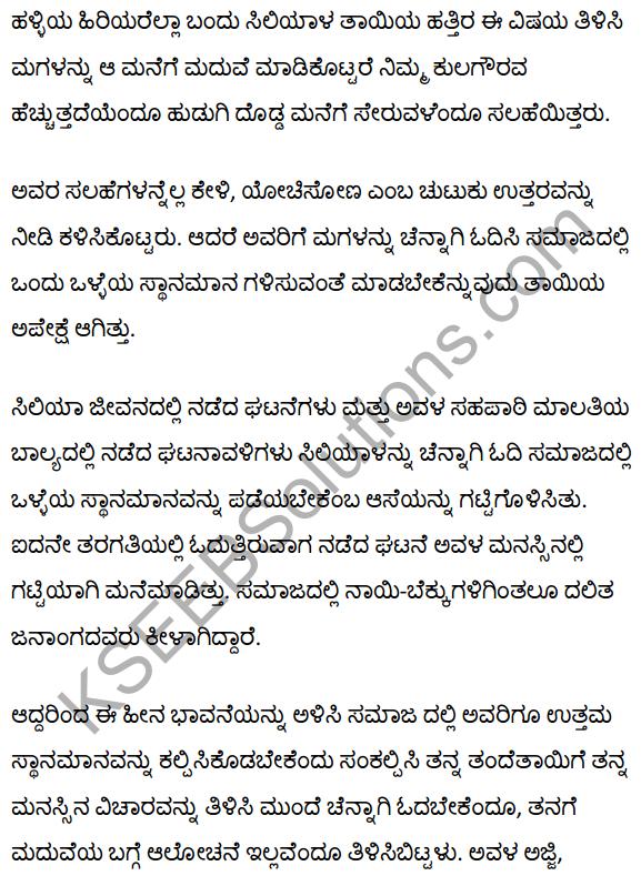 सिलिया Summary in Kannada 2