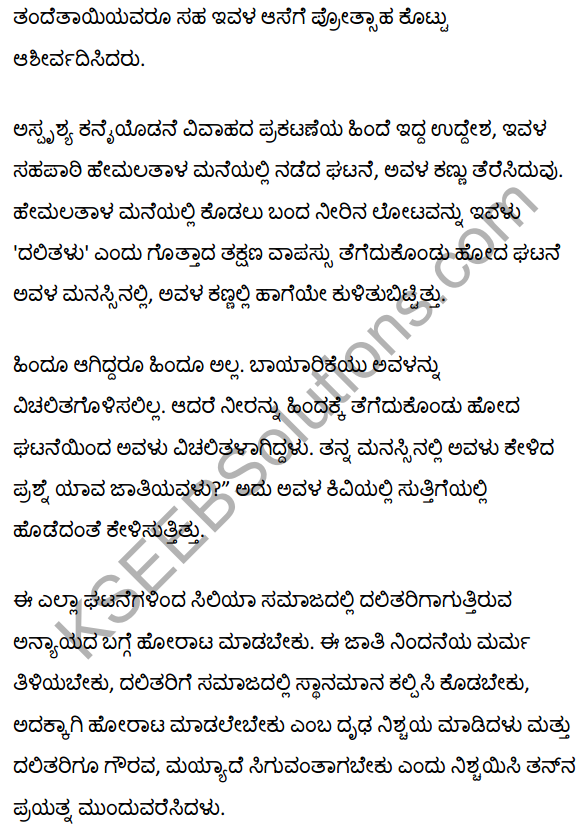 सिलिया Summary in Kannada 3