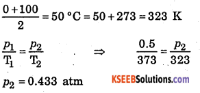 1st PUC Chemistry Question Bank Chapter 5 States of Matter - 36