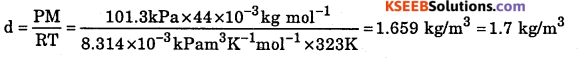 1st PUC Chemistry Question Bank Chapter 5 States of Matter - 4