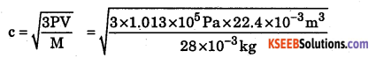 1st PUC Chemistry Question Bank Chapter 5 States of Matter - 42