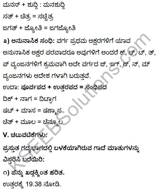 Tili Kannada Text Book Class 10 Solutions Gadya Chapter 2 Asi Masi Krishi 23