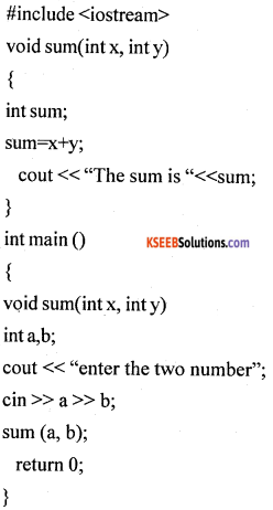 1st PUC Computer Science Model Question Paper 1 with Answers part B img 17
