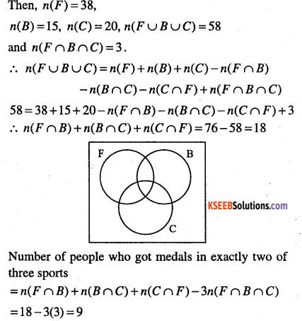 1st PUC Maths Question Bank Chapter 1 Sets 13