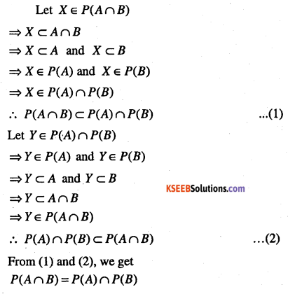 1st PUC Maths Question Bank Chapter 1 Sets 7