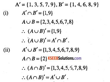 1st PUC Maths Question Bank Chapter 1 Sets 9
