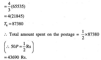 1st PUC Maths Question Bank Chapter 9 Sequences and Series 107