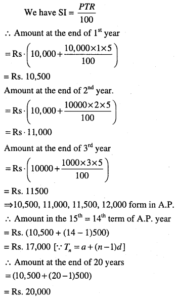 1st PUC Maths Question Bank Chapter 9 Sequences and Series 108