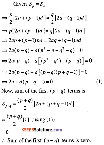 1st PUC Maths Question Bank Chapter 9 Sequences and Series 19