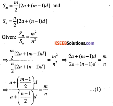 1st PUC Maths Question Bank Chapter 9 Sequences and Series 21