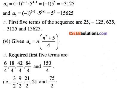 1st PUC Maths Question Bank Chapter 9 Sequences and Series 3