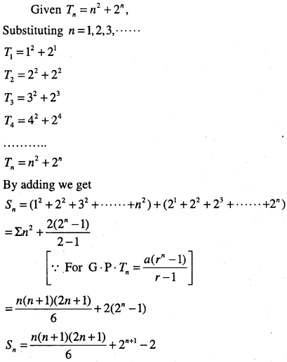 1st PUC Maths Question Bank Chapter 9 Sequences and Series 69