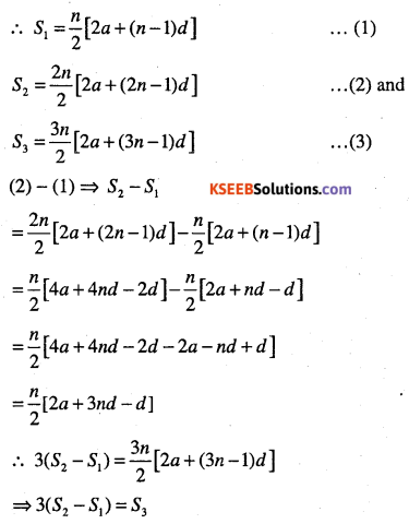 1st PUC Maths Question Bank Chapter 9 Sequences and Series 73