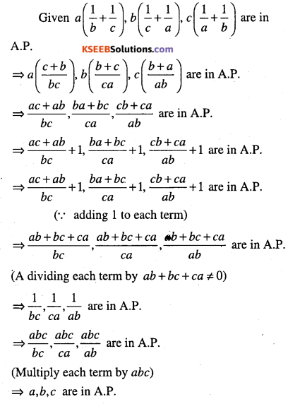 1st PUC Maths Question Bank Chapter 9 Sequences and Series 89