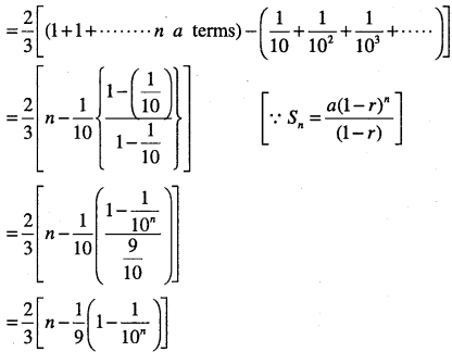 1st PUC Maths Question Bank Chapter 9 Sequences and Series 97