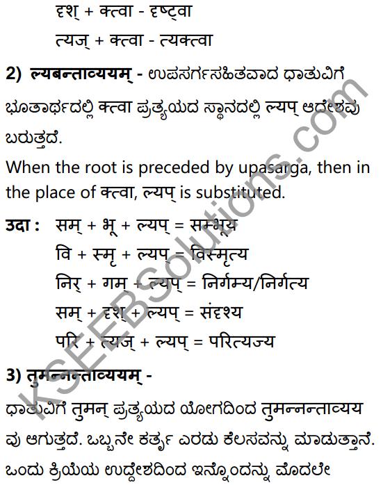 1st PUC Sanskrit Textbook Answers Vyakaran कृदन्ताः 12