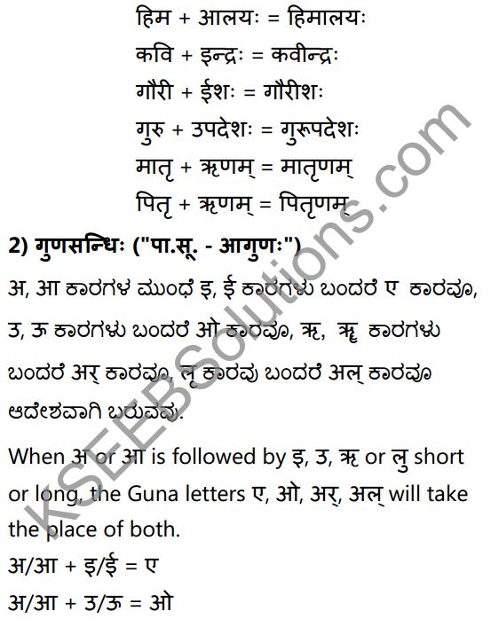 1st PUC Sanskrit Textbook Answers Vyakaran सन्धिः 5