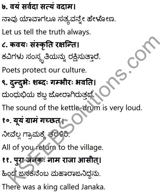 1st PUC Sanskrit Workbook Answers Karnataka 35